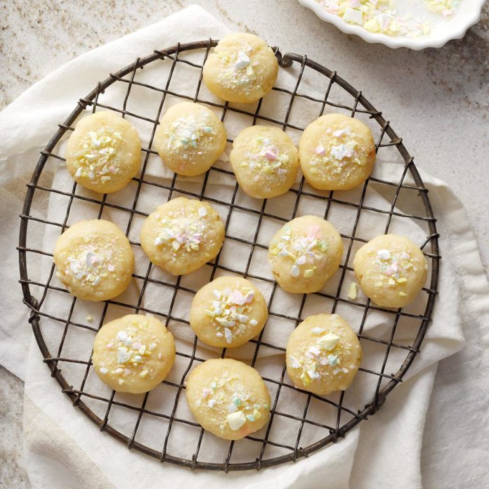 Праздничное мятное печенье