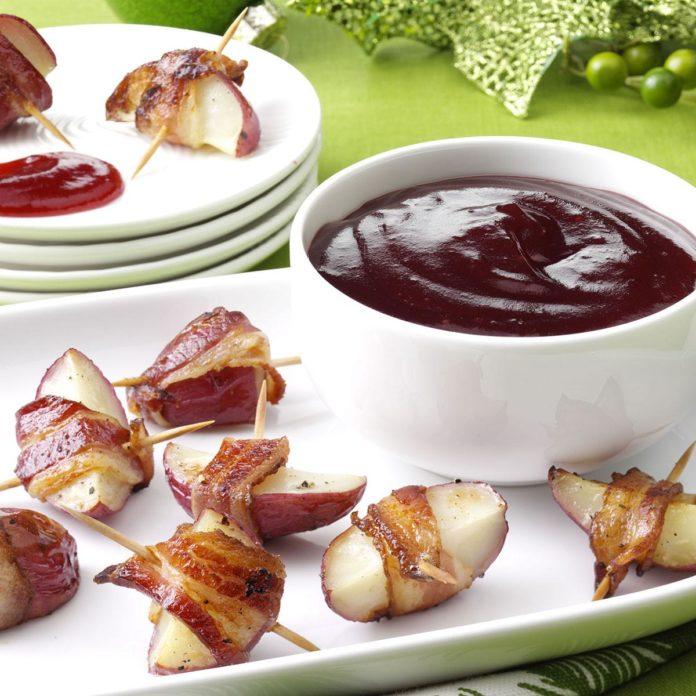 Бальзамико-клюквенный картофельный укус